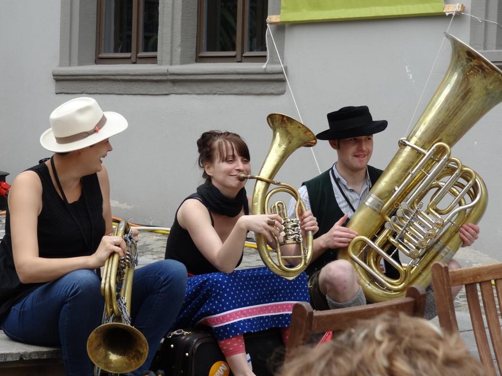 Nachwuchsmusiker in Rudolstadt