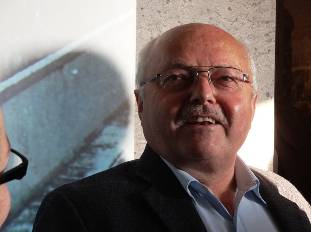 Günther Wetzel flüchtete in einem selbstgebauten Ballon nach Wetsdeutschland. Bei der Museumseröffnung erzählte er persönlich davon.