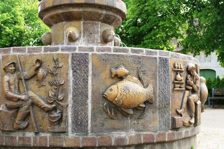 Gänsebrunnen in Dommitzsch