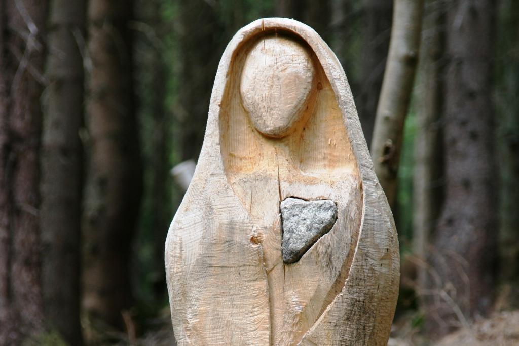 Holzskulptur Riesengebirge Tschechien