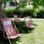 Liegestühle TFF Rudolstadt