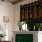 Altarbild in der Schifferkirche Priesitz
