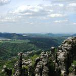 Schrammsteine Elsandsteingebirge Sächsische Schweiz