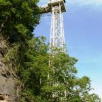 Elektrischer Personenaufzug zur Ostrauer Scheibe in Bad Schandau