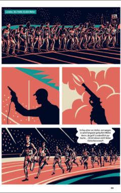 Graphic Novel Zatopek 89